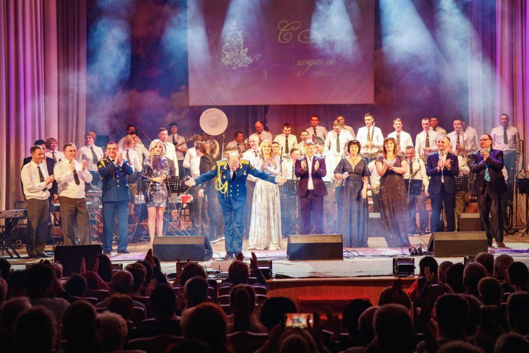 Новогодний концерт в Тирасполе
